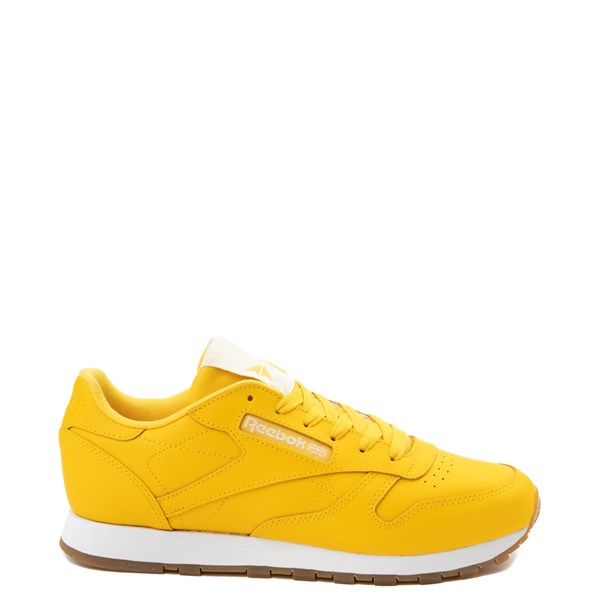 Womens Reebok Classic Athletic Shoe - Yellow / Gum