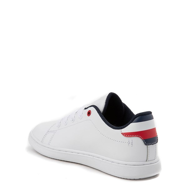 alternate view Tommy Hilfiger Iconic Court Casual Shoe - Little Kid / Big Kid - WhiteALT2