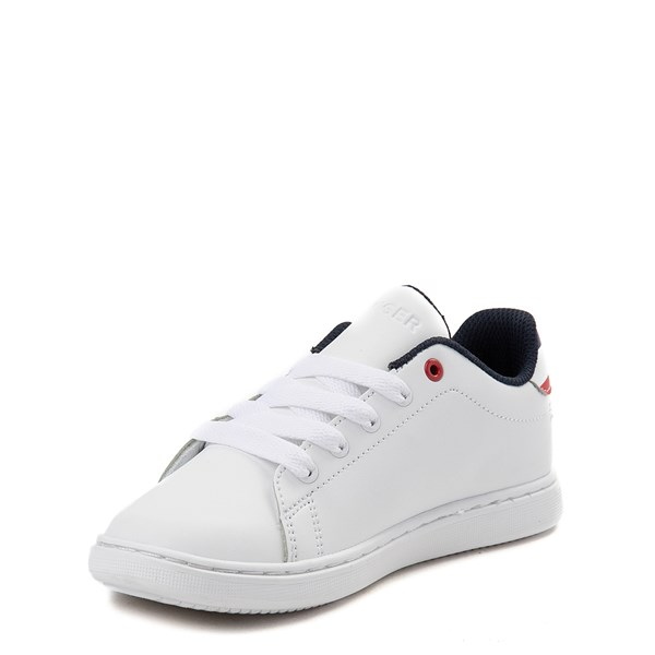 alternate view Tommy Hilfiger Iconic Court Casual Shoe - Little Kid / Big Kid - WhiteALT3