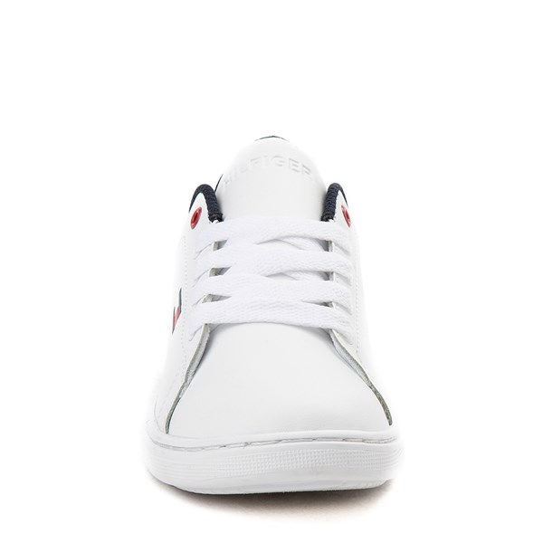 alternate view Tommy Hilfiger Iconic Court Casual Shoe - Little Kid / Big Kid - WhiteALT4