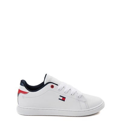 Main view of Tommy Hilfiger Iconic Court Casual Shoe - Little Kid / Big Kid - White