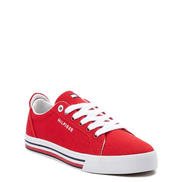 alternate view Tommy Hilfiger Herritage Casual Shoe - Little Kid / Big Kid - RedALT1