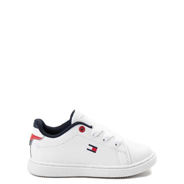 Main view of Tommy Hilfiger Iconic Court Casual Shoe - Baby / Toddler - White