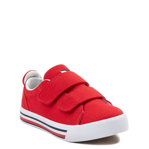 alternate view Tommy Hilfiger Herritage Casual Shoe - Toddler - RedALT1