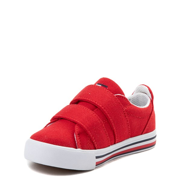 alternate view Tommy Hilfiger Herritage Casual Shoe - Toddler - RedALT3