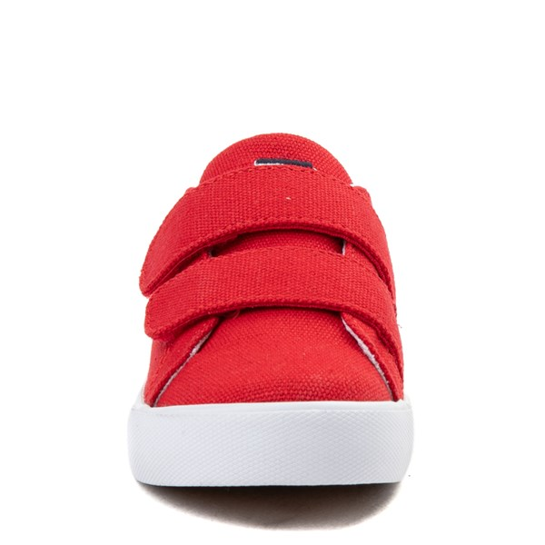 alternate view Tommy Hilfiger Herritage Casual Shoe - Toddler - RedALT4