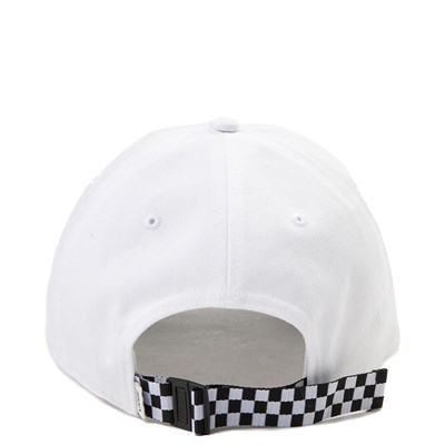 Alternate view of Vans Check It Dad Hat - White