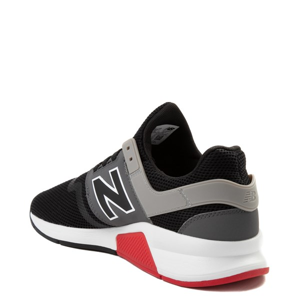 alternate view Mens New Balance 247 V2 Athletic Shoe - Black / Gray / RedALT2