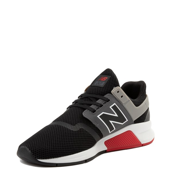 alternate view Mens New Balance 247 V2 Athletic Shoe - Black / Gray / RedALT3