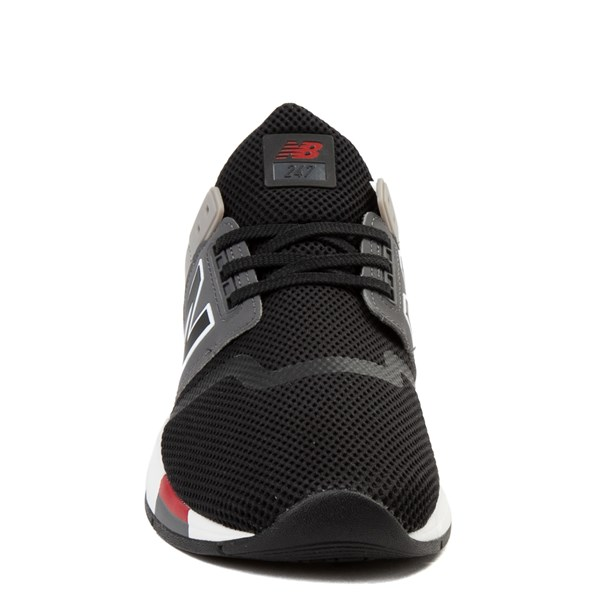 alternate view Mens New Balance 247 V2 Athletic Shoe - Black / Gray / RedALT4