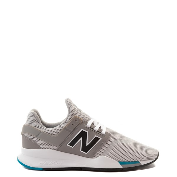 Mens New Balance 247 V2 Athletic Shoe - Gray / White / Blue