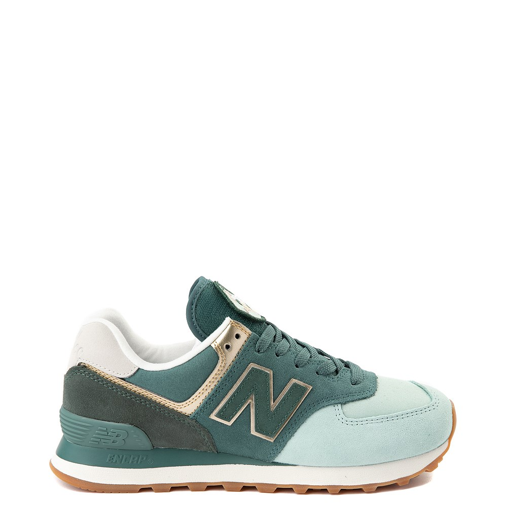Womens New Balance 574 Metallic Patch Athletic Shoe. Previous. ALT7.  default view 1c17b58c01