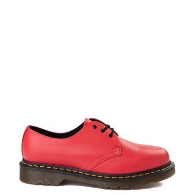 Main view of Dr. Martens 1461 Color Pop Casual Shoe - Bright Red