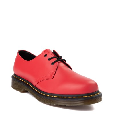 Alternate view of Dr. Martens 1461 Color Pop Casual Shoe - Bright Red
