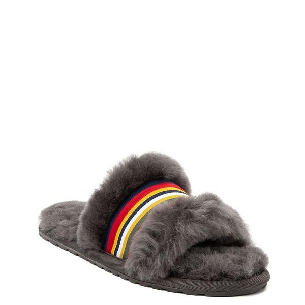 alternate view Womens EMU Australia Wrenlette Slide Sandal - CharcoalALT1