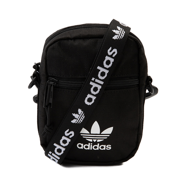 Main view of adidas Originals Crossbody Festival Bag - Black