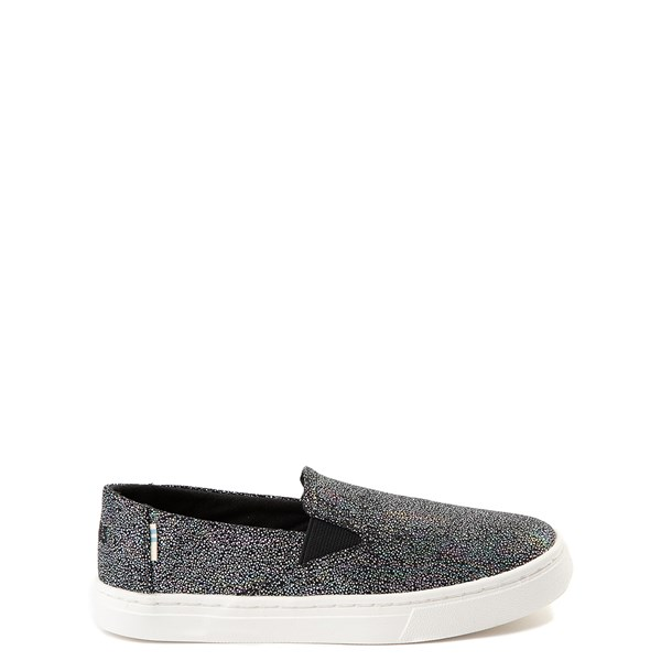 TOMS Luca Slip On Casual Shoe - Little Kid / Big Kid - Black / Multi