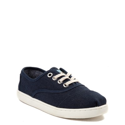 Alternate view of TOMS Cordones Casual Shoe - Little Kid / Big Kid - Navy