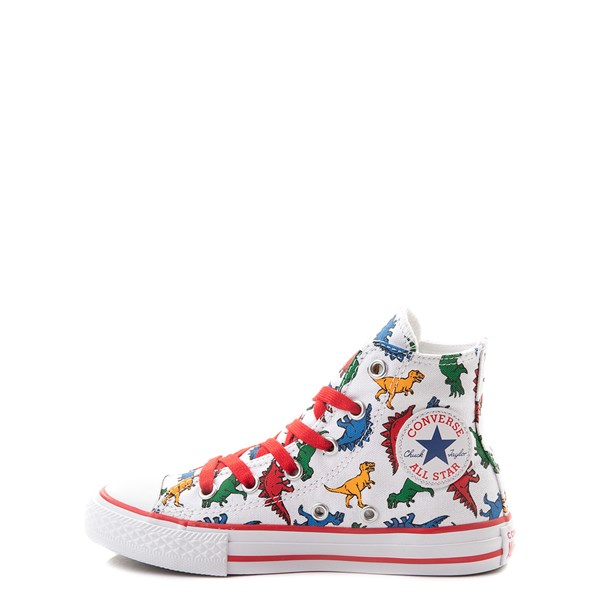 alternate view Converse Chuck Taylor All Star Hi Dinos Sneaker - Little Kid - WhiteALT1
