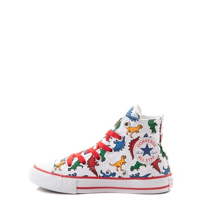 Alternate view of Converse Chuck Taylor All Star Hi Dinos Sneaker - Little Kid - White