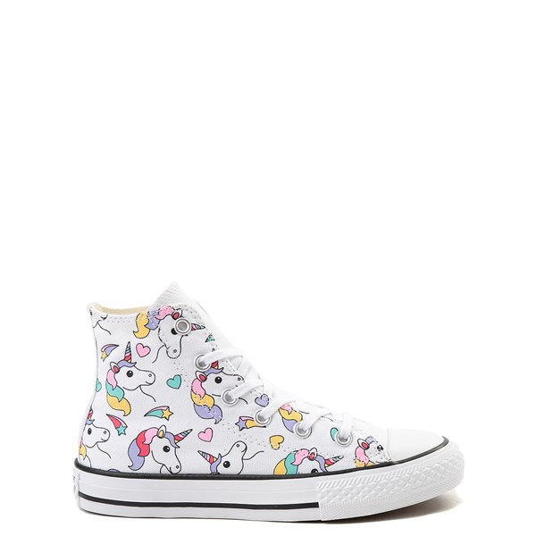 Converse Chuck Taylor All Star Unicorn Rainbow Hi Sneaker - Little Kid / Big Kid