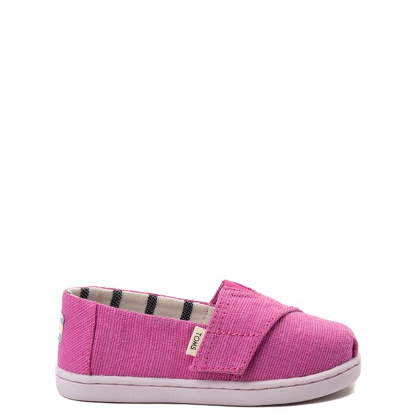 TOMS Classic Slip On Casual Shoe - Baby / Toddler / Little Kid - Pink