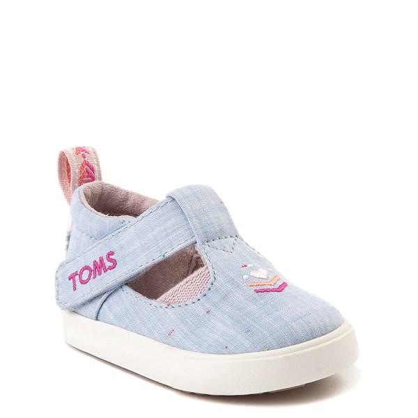 alternate view TOMS Early Walker Joon Casual Shoe - ToddlerALT1