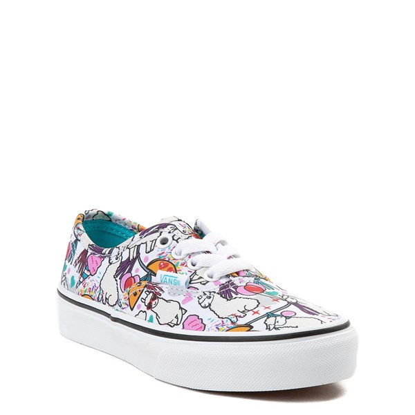 Alternate view of Vans Authentic Llama Party Skate Shoe - Little Kid / Big Kid