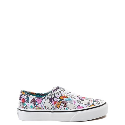 Main view of Vans Authentic Llama Party Skate Shoe - Little Kid / Big Kid - Multi