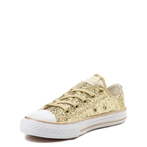 alternate view Converse Chuck Taylor All Star Lo Glitter Sneaker - Little KidALT3