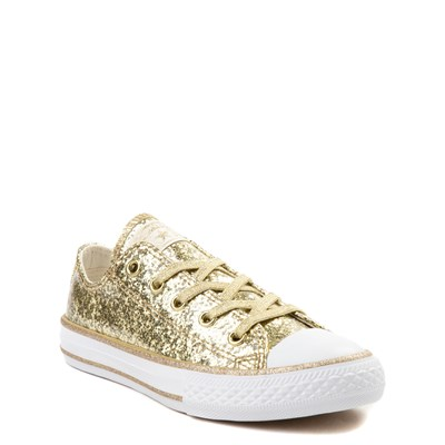 Alternate view of Youth Converse Chuck Taylor All Star Lo Glitter Sneaker
