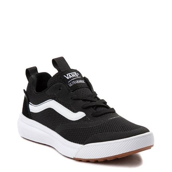 alternate view Vans UltraRange Rapidweld Sneaker - Little Kid - BlackALT1