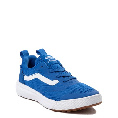 Alternate view of Vans UltraRange Rapidweld Skate Shoe - Little Kid - Blue / White