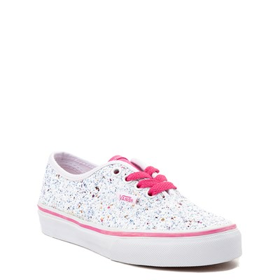 525236d4d8e7a0 Vans Authentic Glitter Skate Shoe - Little Kid   Big Kid