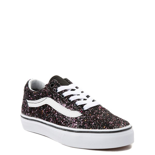 Alternate view of Vans Old Skool Glitter Skate Shoe - Little Kid / Big Kid