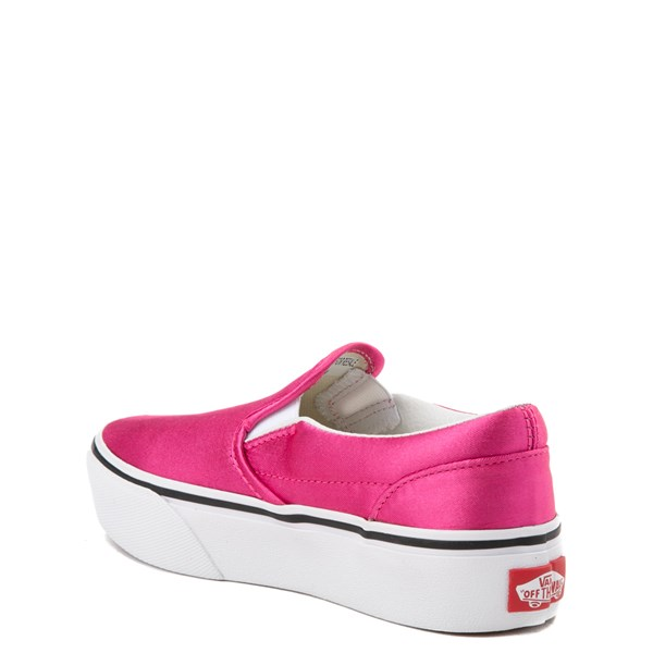 alternate view Vans Slip On Platform Skate Shoe - Little Kid / Big KidALT2