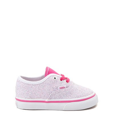 Main view of Vans Authentic Glitter Skate Shoe - Baby / Toddler