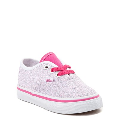 Alternate view of Vans Authentic Glitter Skate Shoe - Baby / Toddler