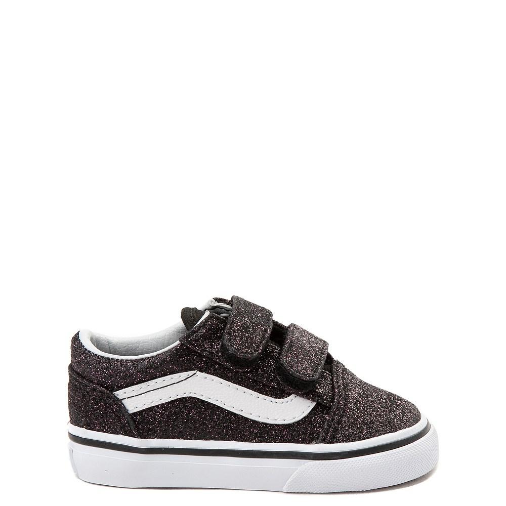 Toddler Vans Old Skool V Glitter Skate Shoe