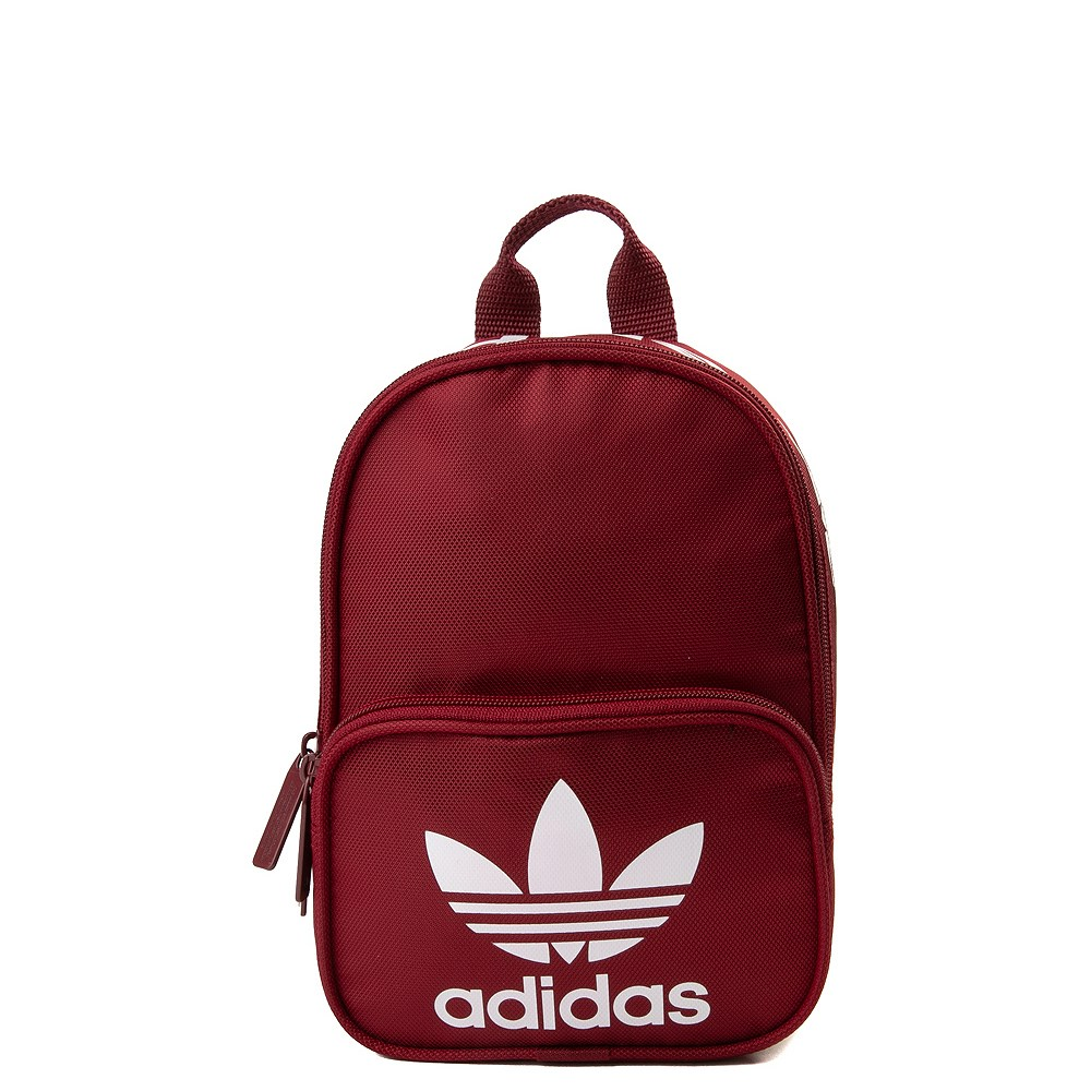 Burgundy adidas Mini Santiago Backpack