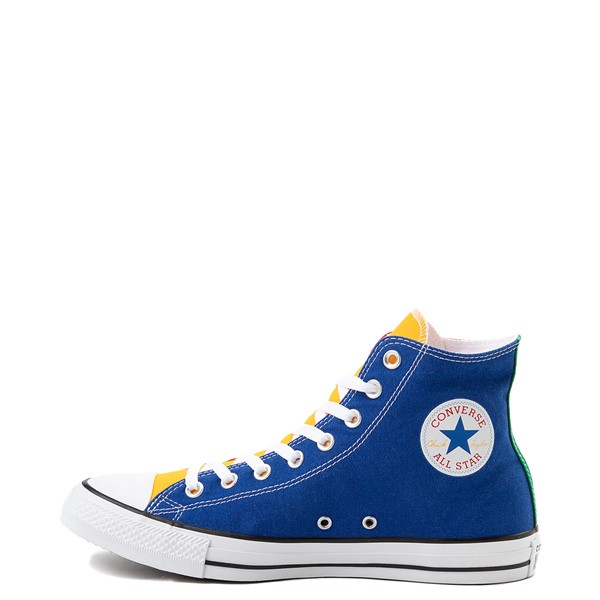 alternate view Converse Chuck Taylor All Star Hi Color-Block SneakerALT1
