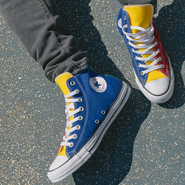 alternate view Converse Chuck Taylor All Star Hi Sneaker - Primary Color-BlockALT1B