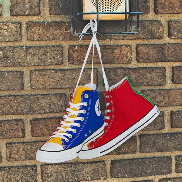 alternate view Converse Chuck Taylor All Star Hi Color-Block SneakerALT1D