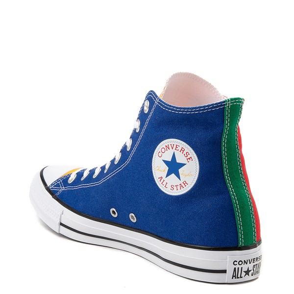 alternate view Converse Chuck Taylor All Star Hi Color-Block SneakerALT2