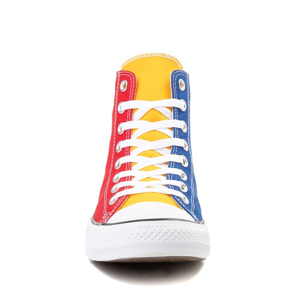 alternate view Converse Chuck Taylor All Star Hi Sneaker - Primary Color-BlockALT4