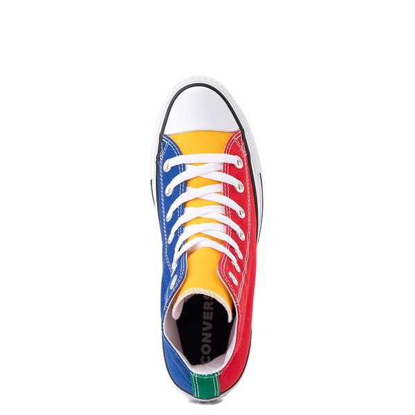 alternate view Converse Chuck Taylor All Star Hi Sneaker - Primary Color-BlockALT4B