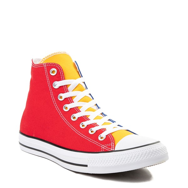 alternate view Converse Chuck Taylor All Star Hi Color-Block SneakerALT5