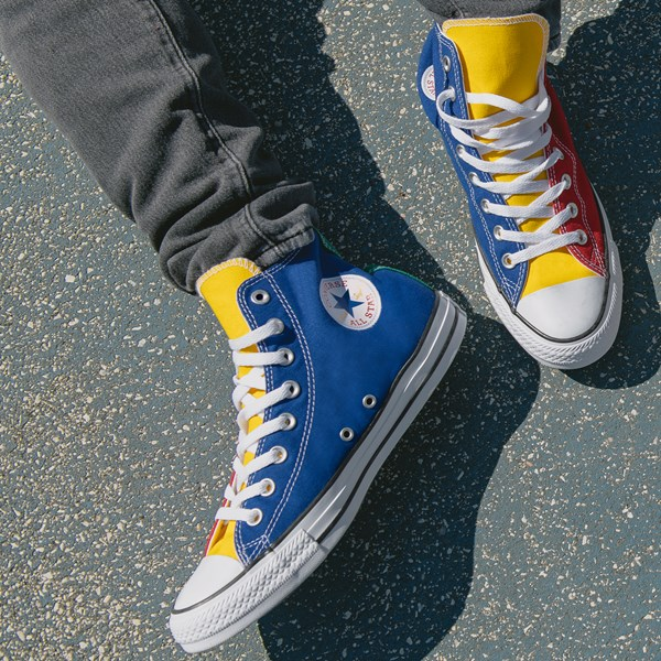 alternate view Converse Chuck Taylor All Star Hi Color-Block SneakerB-LIFESTYLE1