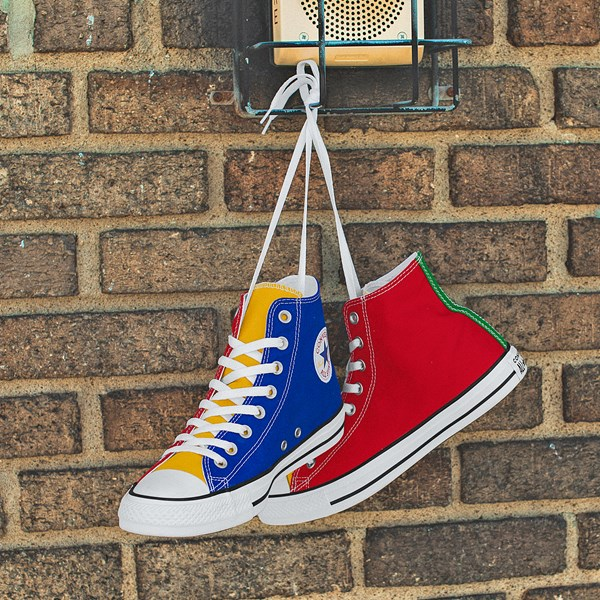 alternate view Converse Chuck Taylor All Star Hi Color-Block SneakerC-HERO1