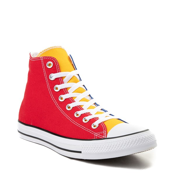 alternate view Converse Chuck Taylor All Star Hi Color-Block SneakerALT1B